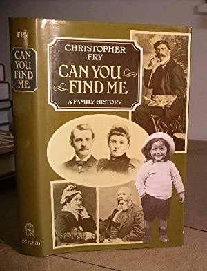 Can You Find Me - A Family History: Fry, Christopher
