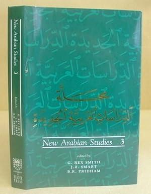 New Arabian Studies 3: Smith, G Rex - Smart, J R - Pridham, B R [editors]