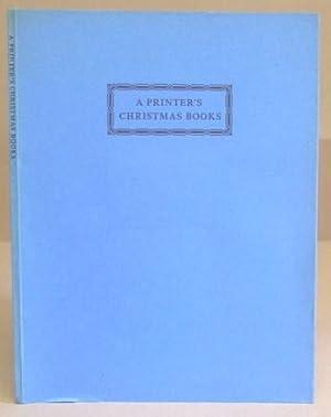 A Printer's Christmas Books: Crutchley, Brooke