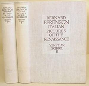 The Italian Pictures Of The Renaissance - A List Of The Principal Artists And Their Works With An...