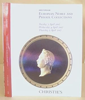 European Noble And Private Collections - April 2007, Sale 2734.