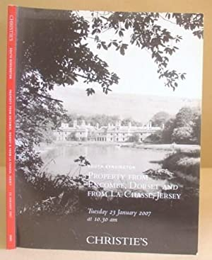 Property From Encombe, Dorset And La Chasse, Jersey - January 2007, Sale 5085