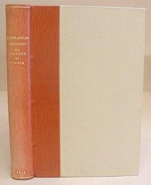 Itinerarium Antonini Augusti Et Hierosolymitanum Ex Libris: Pinder, M &