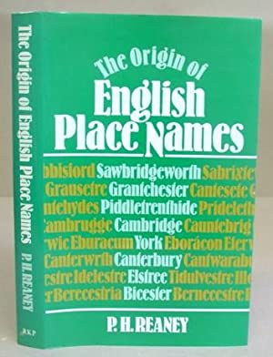 The Origin Of English Place Names
