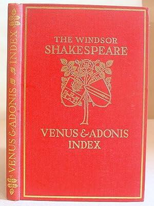 Venus And Adonis : Index - The: Shakespeare, William &