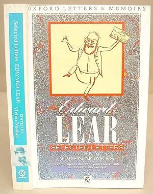 Edward Lear : Selected Letters: Lear, Edward &