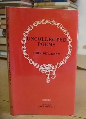 Uncollected Poems: Betjeman, John