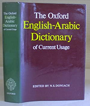 The Oxford English Arabic Dictionary Of Current: Doniach, N S