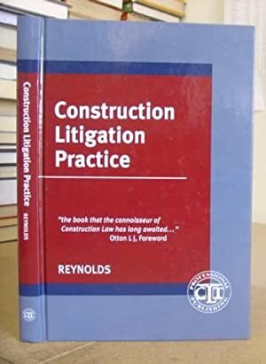 Construction Litigation Practice: Reynolds, Michael P