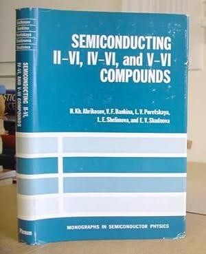 Semiconducting II - VI, IV - VI: Abrikosov, N Kh