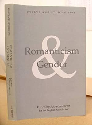 Romanticism And Gender: Janowitz, Anne [editor]