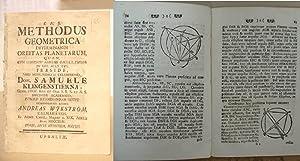 Methodus Geometrica Determinandi Orbitas Planetarum [ Planetarium: Wjkström [ Wijkstrom