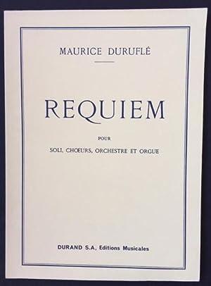 Requiem - pour Soli, Choeurs, Orchestre et: Duruflé, Maurice