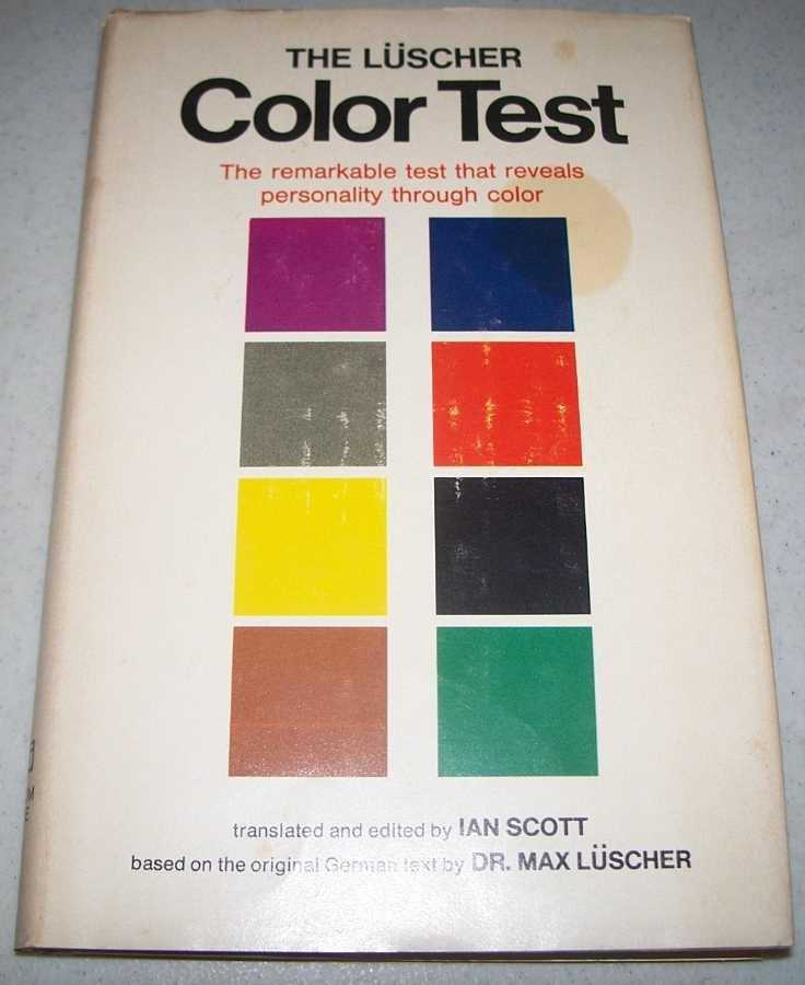 The Luscher Color Test by Luscher, First Edition - AbeBooks
