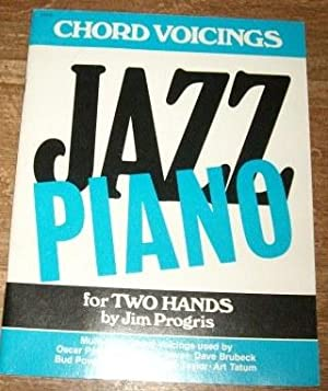 Jazz Piano for Two Hands (Chord Voicings): Progris, Jim