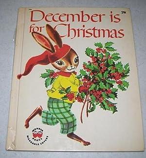 December Is for Christmas (Wonder Books 776): Scott, Ann