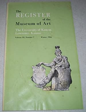 The Register of the Museum of Art: N/A