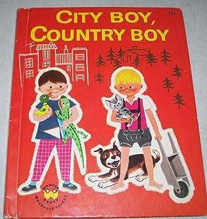 City Boy, Country Boy (Wonder Books 810): Lobe, Mira