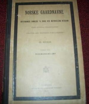 Norske Gaardnavne Oplysninger Samlede Til Brug Ved: Rygh, O.
