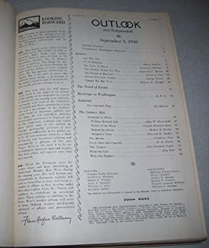 The Outlook and Independent (Magazine) Volume 156, September-December 1930 Bound in One Volume: ...