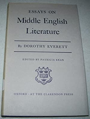 essays middle english literature  abebooks essays on middle english literature everett dorothy