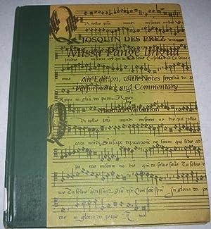 Missa Pange Lingua (Early Musical Masterworks): des Prez, Josquin;