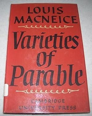 Varieties of Parable: Macneice, Louis