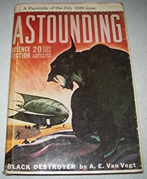 Astounding Science Fiction July 1939 (Facsimile Issue): Van Vogt, A.E.; Asimov, Isaac; Rocklynne, ...