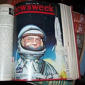 Newsweek Magazine Volume 59, January-March 1962 Bound in One Volume: N/A