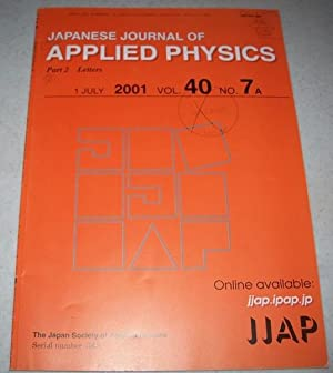 japanese journal applied physics - AbeBooks