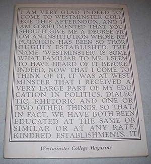 Westminster College Magazine Winter 1971: Yates, Tyke (ed.);