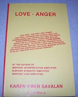Love-Anger: Savalan, Karen Ober