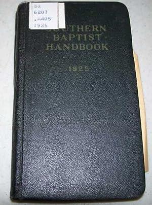 Southern Baptist Handbook 1925: Alldredge, E.P.