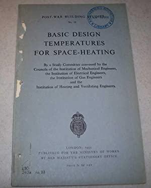 Basic Design Temperatures for Space-Heating by a: N/A