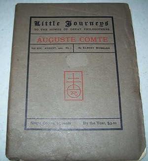 Auguste Comte (Little Journeys to the Homes: Hubbard, Elbert