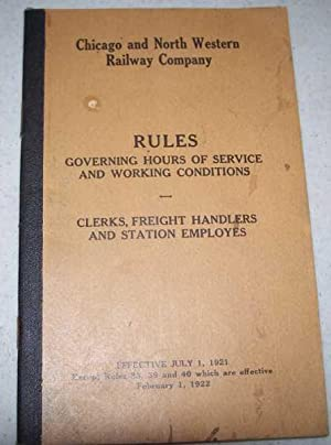 Chicago and North Western Railway Company: Rules: N/A