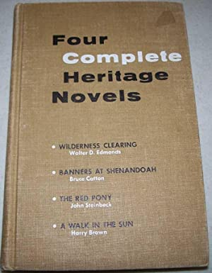 Four Complete Heritage Novels: Wilderness Clearing; Banners: Popp, Lilian M.;