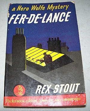 Fer-De-Lance: A Nero Wolfe Mystery: Stout, Rex