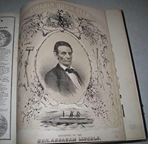 Collection of Civil War Sheet Music Bound together, including When Sherman Marched Down to the Se...