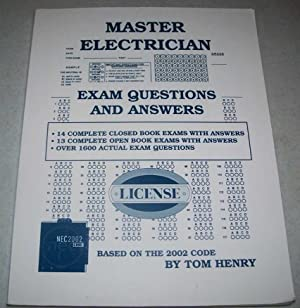 Master Electrician Exam Questions and Answers Based: Henry, Tom
