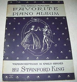 The Harold Flammer Favorite Piano Album: King, Stanford