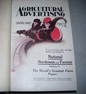 Agricultural Advertising January-October 1907 bound volume