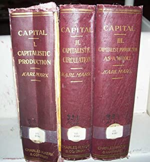 Capital: A Critique of Political Economy in Three Volumes: I-The Process of Capitalistic Producti...