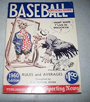 Official Baseball Guide 1960