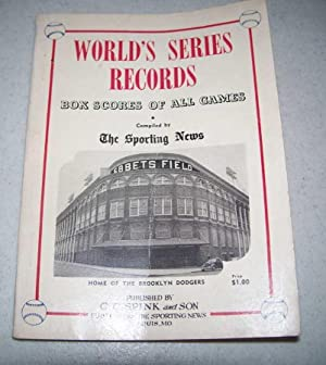 1954 World's Series Record Book: Box Scores of All Games