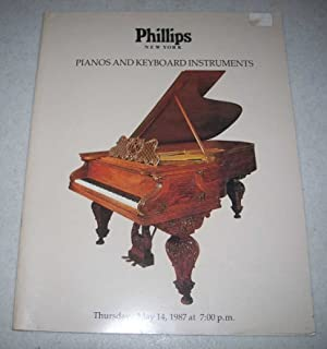 Phillips New York: Pianos and Keyboard Instruments Auction, May 14, 1987, Sale No. 663