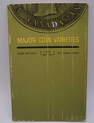 Canada Major Coin Varieties Part One, 1965, Third Edition