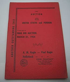 176th Auction United States and Foreign Coins, March 31, 1954
