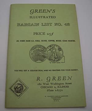 Green's Illustrated Bargain List No. 48: Rare Coins Catalog