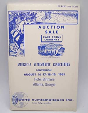 American Numismatic Association Convention Auction Sale, August 1961: Auction Sale or Rare Coins ...